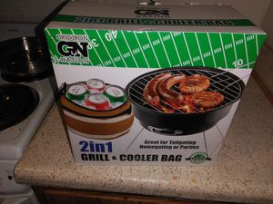 2 in1 grill + cooler Bag for Sale in North Las Vegas, NV