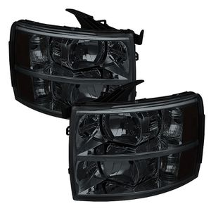 Fits 2007-2014 Chevy Silverado Black Smoked Headlights for Sale in Des Moines, WA