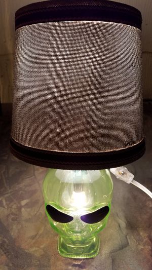 750 ML Outer Space Vodka bottle lamp for Sale in Evansville, IN
