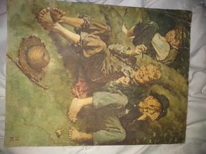 Norman Rockwell painting for Sale in Lakewood, WA