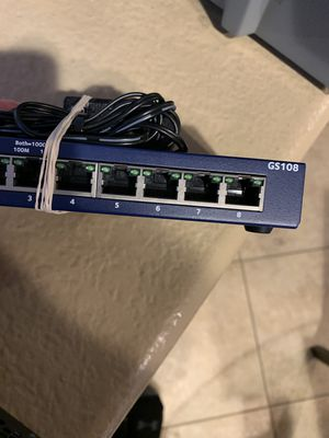 Netgear GS108 Network Switch for Sale in Chula Vista, CA