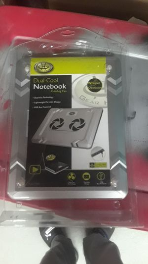 Dual cool notebook laptop cooling fan for Sale in Davie, FL