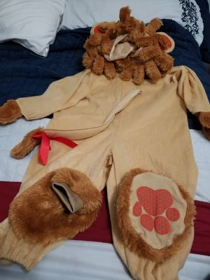 Lion costume for halloween. 12-18 months for Sale in Sunrise, FL