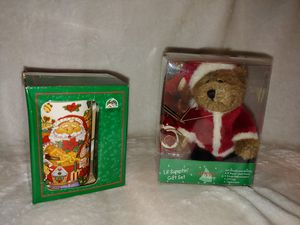 Christmas gift set bundle of 2 for Sale in Burlington, NJ