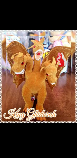 Ty Classic Beanie Babies King Ghidorah MINT for Sale in Vine Grove, KY