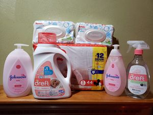 Huggies and Dreft baby bundle for Sale in Suffolk, VA