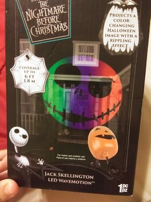 Nightmare before Christmas Jack motion light for Sale in Phoenix, AZ