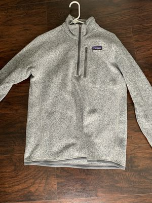 Patagonia Better Sweater 1/4 Zip Stone Gray Jacket for Sale in Galloway, OH