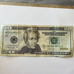 A $20 bill Serial numbers MC 00488457 C for Sale in Torrance, CA