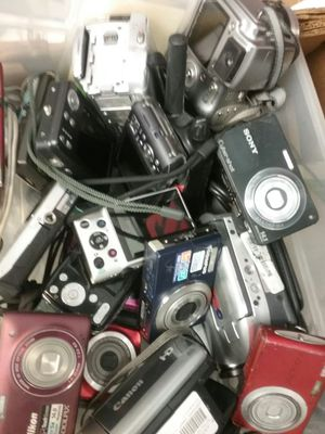 Bulk of digital cameras ,at our shop for Sale in Indianapolis, IN