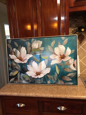 Big floral painting for Sale in Powhatan, VA
