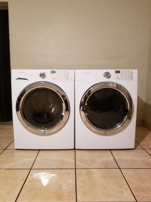 FRIGIDAIRE WASHER AND ELECTRIC DRYER for Sale in Glendale, AZ