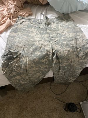 Camo tactical pants 2 pairs for Sale in Gig Harbor, WA