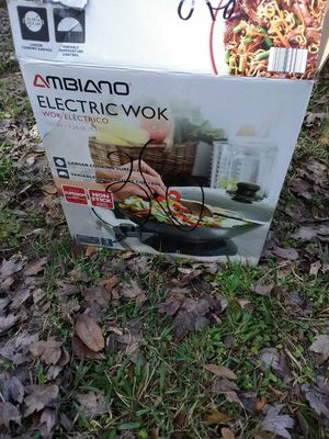 Electric wok for Sale in Lakeland, FL