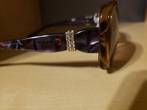 Genuine Swarovski Sunglasses Chloe April SW 12 Brown/Purple for Sale in Lakewood, CO