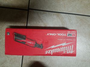 Brand new Milwaukee m12 ratchet tool only for Sale in Acampo, CA