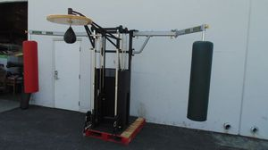NEW MMA Training Machine, Striking Board, 2 pulleys , grappling dummy, kick targets , speed bag for Sale in Garden Grove, CA