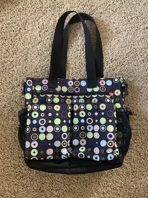 Skip Hop Stroller Diaper Bag Tote Mod Circles Blue for Sale in Scottsdale, AZ