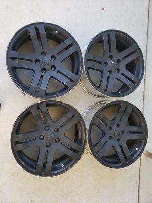 Dodge 18 x 7.5 alloy rims for Sale in Modesto, CA