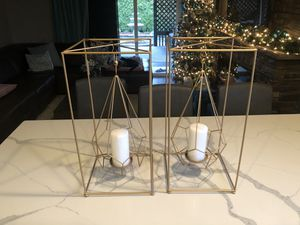 "Two brand new candleholders 10"" x 10"" x 21""H for Sale in Vancouver, WA"