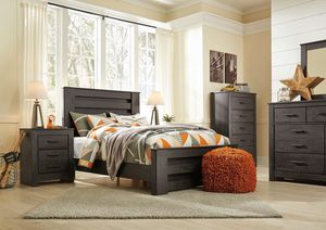 Ashley Furniture Black Queen Size Bed Frame for Sale in Santa Ana, CA