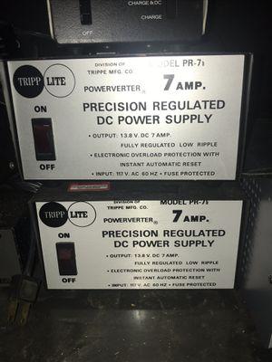 12v 13.8v Power Supplies Tripp-Lite for Sale in Carleton, MI