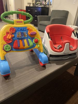 Baby walker and chair for Sale in Bellevue, WA