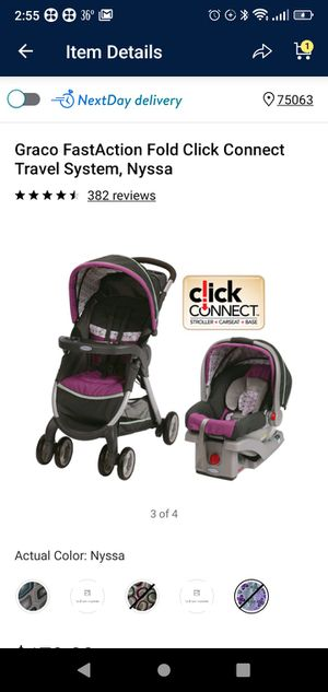 Graco travel system stroller and car seat for Sale in Irving, TX
