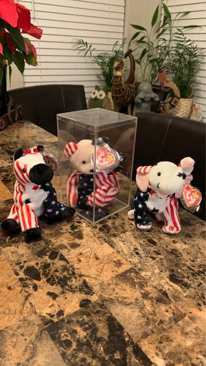 """The """"American"""" Collection TY Beanie Babies for Sale in Phoenix, AZ"""