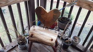 Cupid chair, mansanita, oak, cedar, homemade arrow for Sale in Eagle Point, OR