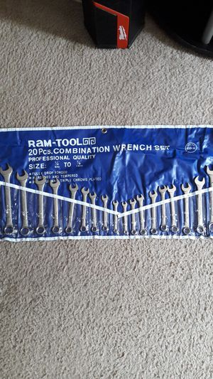 20 new Wrenches for 25 cash for Sale in Pickerington, OH