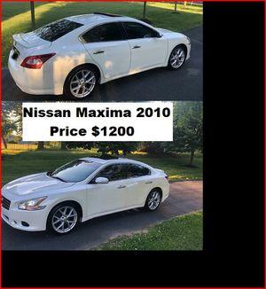 ֆ12OO_2010 Nissan Maxima S for Sale in Downey, CA