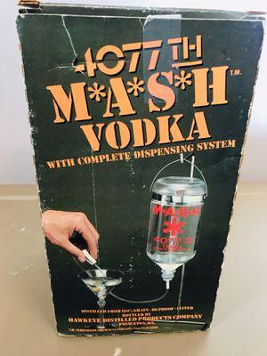 Mash army vodka drinks dispenser classic vintage for Sale in Leesburg, VA
