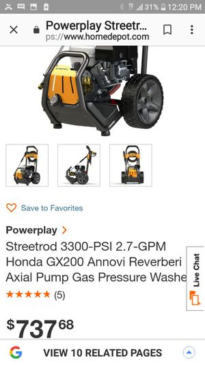 PowerPlay 3300 PSI pressure washer only used twice for Sale in Bakersfield, CA