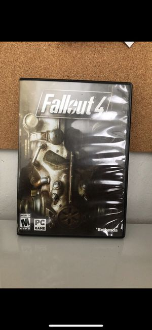 Fallout 4 PC Game for Sale in Cape Coral, FL