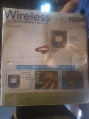 PetSafe wireless pet containment system up to 1/2 acre new in box for Sale in Milton, FL