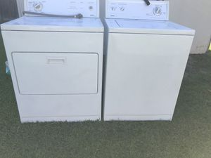 KENMORE WASHER AND DRYER ELECTRIC HEAVY DUTY SUPER CAPACITY for Sale in Irving, TX