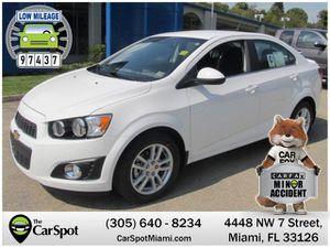 2013 Chevrolet Sonic for Sale in Miami, FL