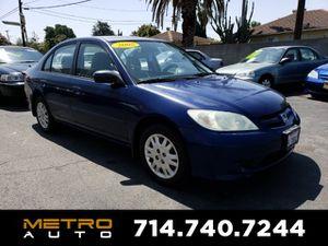 2005 Honda Civic Sdn for Sale in La Habra, CA
