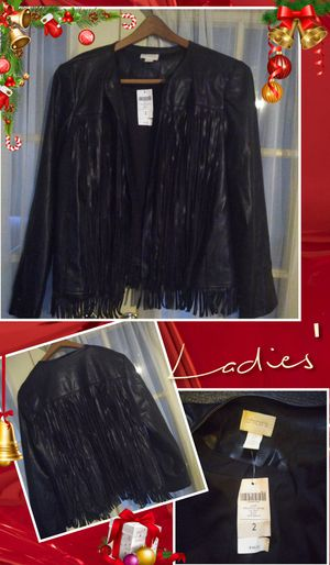Ladies Fringe Leather Jacket for Sale in Chicago, IL
