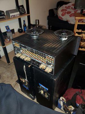 Car door speakers $2 5 , Receiver $45 2 matching speakers $60 for Sale in San Diego, CA