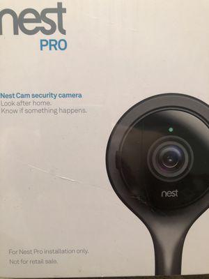 Nest pro security camera for Sale in Lincoln, RI