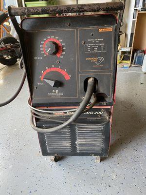 Welder Lincoln electric power kit 200 with aluminum spool gun for Sale in Hurst, TX