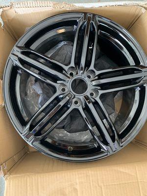 Brand new 18 inch Glossy black rims for Sale in Odessa, FL