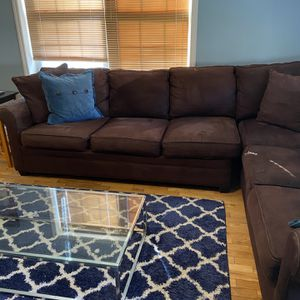 Brown Sectional Sofa for Sale in Yonkers, NY