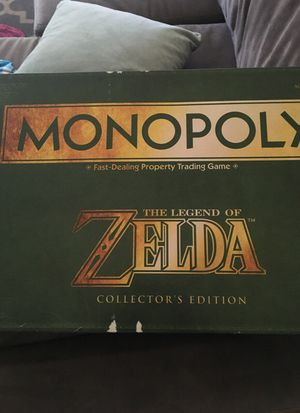 Collector monopoly game Zelda edition for Sale in Banning, CA