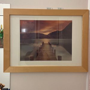 Large Lakeside Photo Framed for Sale in Hayward, CA