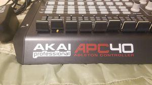 AKAI pro APC 40 ableton Cotroller for Sale in Matthews, NC