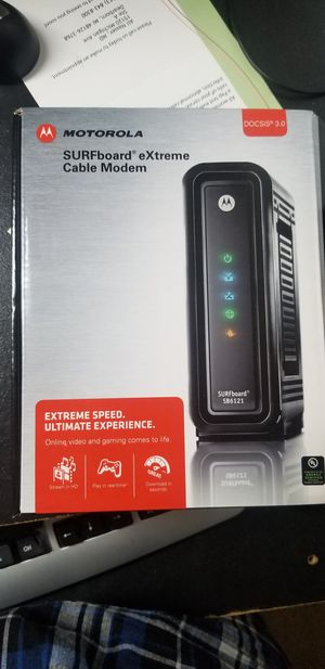 Motorola surfboard cable modem for Sale in Dearborn, MI