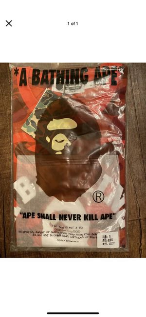 BAPE RED CAMO T SHIRT for Sale in Haltom City, TX